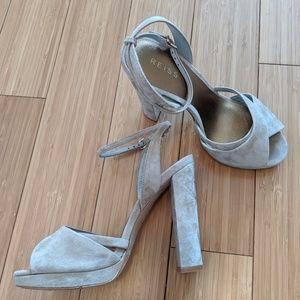 Reiss Tan Strappy Heels